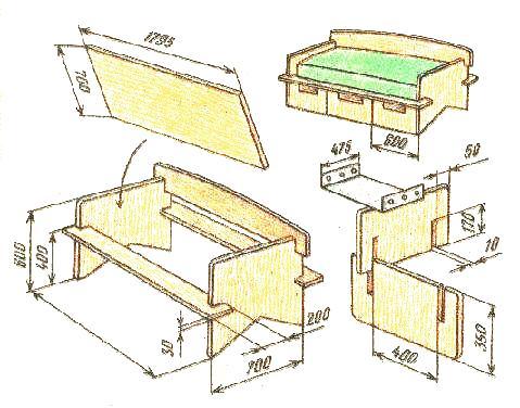 Деревообрабатывающие станки для дома своими руками чертежи и 66