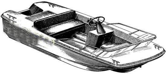 самодельная лодка скат