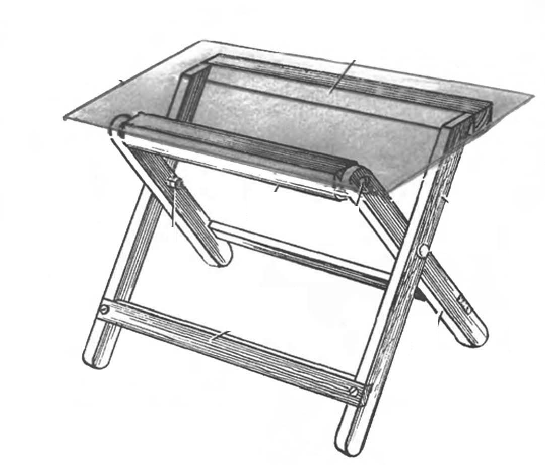 Стол своими руками столик